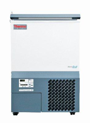 Thermo Scientific Revco ULT1750-10-D CxF Series Ultra-Low Temperature Chest Freezer 17 cu ft Capacity 348 Boxes -40 Degree C Maximum Temperature 208-230V