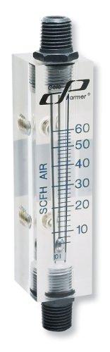 Cole-Parmer Flowmeter for air 15 to 100 scfh