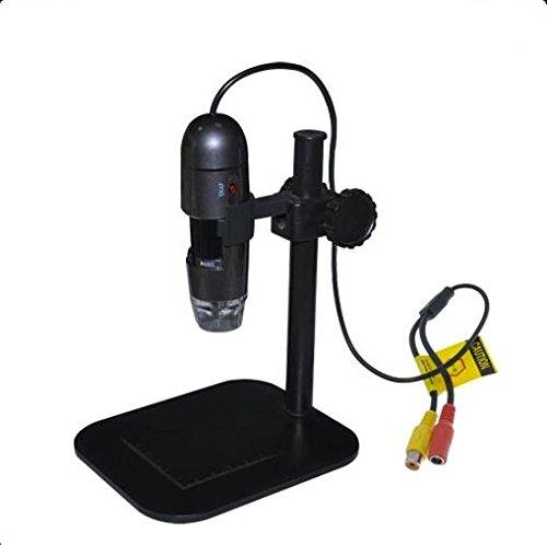 BANGWEIER Portable USB Digital Microscope 25X ~600X Magnification Mini Microscope Camera Telephoto TV