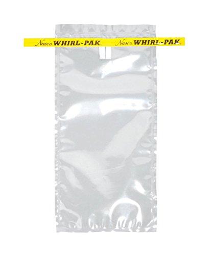 Midland Scientific B00736WA PK Whirl-Pak Sample Bag 18 oz 1275 Height 12 Width 1275 Length 532 mL Pack of 500