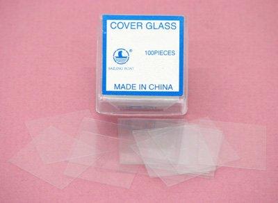 SEOH 18mm x 18mm Glass Cover Slips