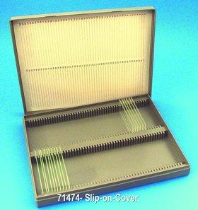 Slip-On Cover 100- Microscope Slide Box 10PK