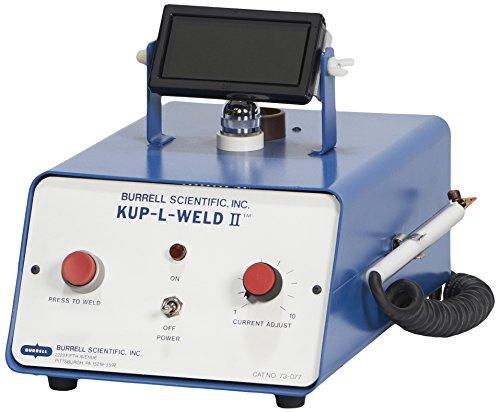 Burrell Scientific 073-077-00-00 Thermocouple Welder Kup-L-Weld II Silver