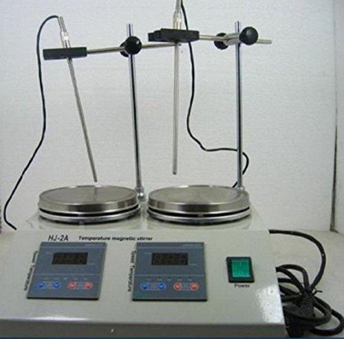 Cyana brand NEW 2 Units Heads Multi unit Digital Thermostatic Magnetic Stirrer Hotplate mixer 110V