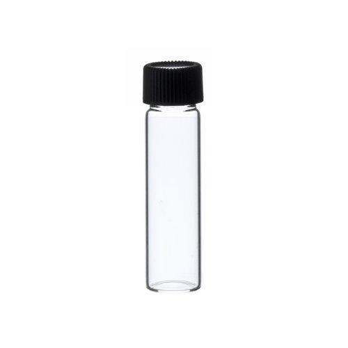 2 Dram CLEAR Glass Vial - Screw Cap - Pack of 144