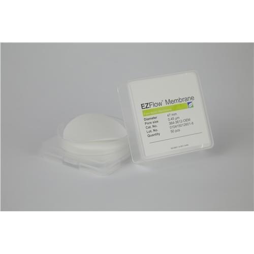 Foxx Life Sciences 364-3811-OEM EZFlow Membrane Disc Filter Nylon 90 mm Diameter 45 µm Pore Size Pack of 25