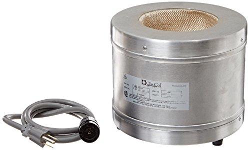 Glas-Col 100B TM614 Series TM Aluminum Housed Griffin Beaker Mantle 1000ml Beaker Capacity 115V