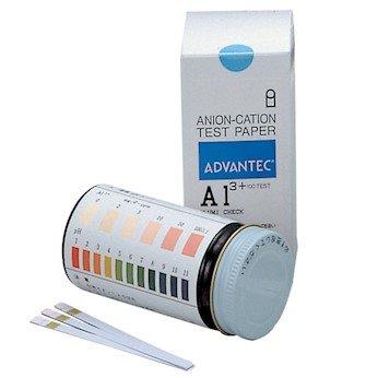 Advantec 07030010 Test Strips Alumi Check Aluminum Al3 0 to 100 ppm 100 StripsPk