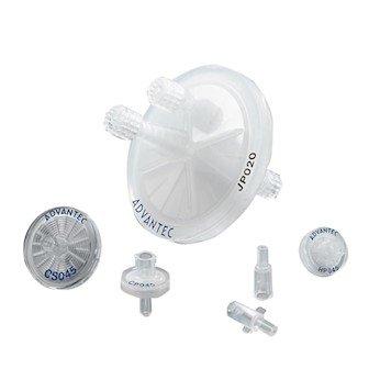 Advantec 25HP020AN Syringe Filters 02 um Hydrophilic PTFE 25 mm 100Pk