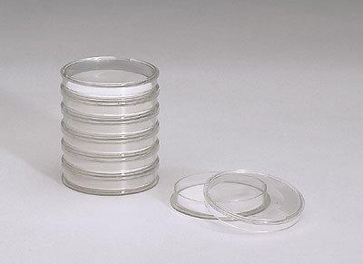 Advantec 800101 Petri Dish with Cellulose Pads 50 mm dia x 11 mm H 100pk