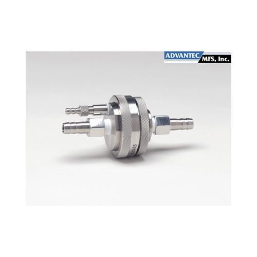 Advantec MFS 357400 KS47 Model Vented In-Line Filter Holder 47 mm Diameter 304 Stainless Steel