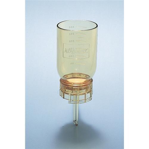 Advantec MFS 43301050 Model KP47T Vacuum 47mm Size Filter Wide Mouth Holder Funnel Base