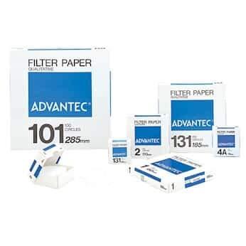 Advantec N0170CM Grade No 1 Qualitative Filter Paper 70 cm Dia Pack of 100