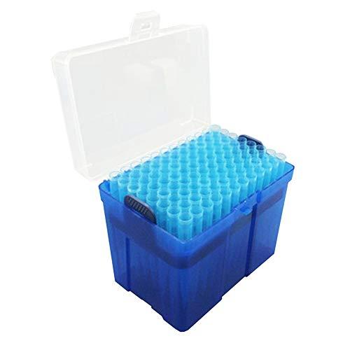 Adamas-Beta Universal Pipette Tips 1000μL Sterile DNaseRNase Free AutoclavableClear Rack 96 TipsRack Pk x 5 Racks 480 Tips Blue