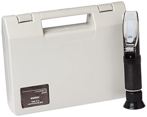Sper Scientific 300006 Salt Refractometer Brix 0 ~ 28