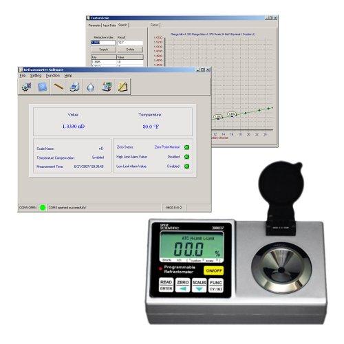 Sper Scientific 300037 Programmable Refractometer Brix 0 ~ 95