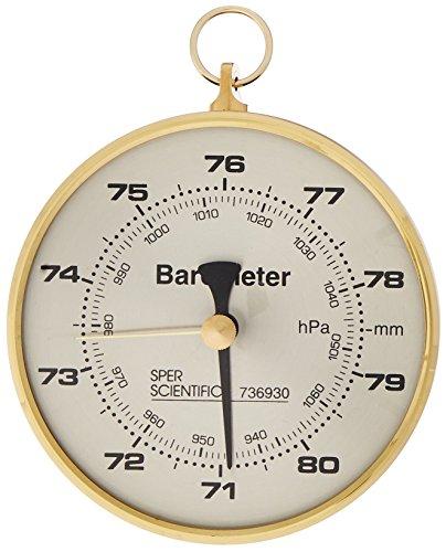 Sper Scientific 736930 Dial Barometer 4 Dial