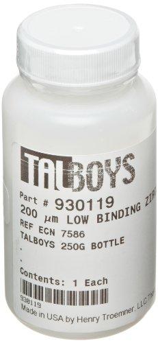 Talboys 930119 200 Micron Low Protein Binding Grinding Media Zirconium Beads 250g Bottle