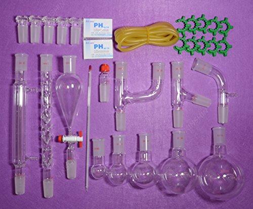 NANSHIN Glasswarelab glassware kit2440primary Organic chemistry glassware kit lab glassware