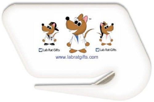 Lab Rat Gifts LO002 Plastic Lab Rat Letter Opener Letter Opener