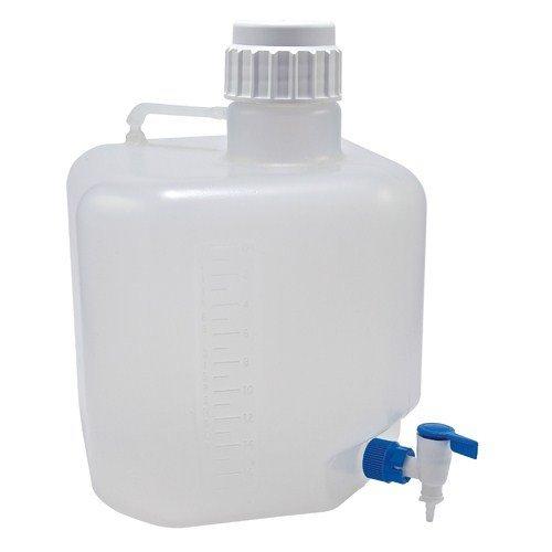 Dynalon 505634-3 20-Liter Azlon Polypropylene Autoclavable Carboy with Stopcock
