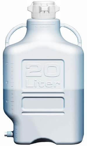 Ezgrip 155-3211-OEM Polypropylene Carboy with Spigot 20L Volume 80mm Cap Size