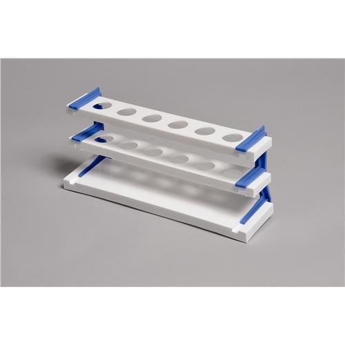 United Scientific Supplies 76101 Nessler Cylinder Rack for 50 mL Cylinders 6-Tube Polypropylene Polypropylene