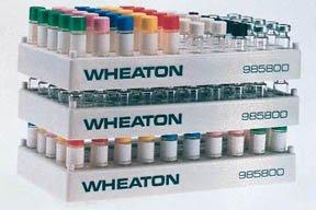 Wheaton Cryule Polypropylene Racks 7 58 x 4 x 78 in
