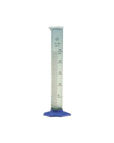 Nalgene Polypropylene Graduated Cylinder with Blue Base 4000ml Case of 2