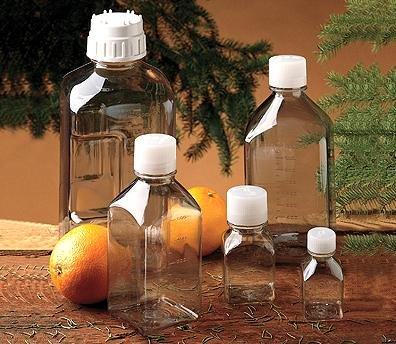 Nalge Nunc 562015-0250 Nalgene Square Bottle Pc 8 Oz
