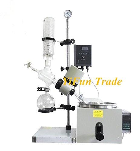 5L Lab Rotary Evaporator Rotovap Evaporation Apparatus with Bath 0~199°C 110V or 220V