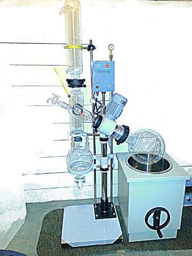 Rotovap El-10 Rotovapor 10 L Unit Rotary Evaporator Distillation Vacuum Rotary Process Reflux Food Industry Freeze Drying