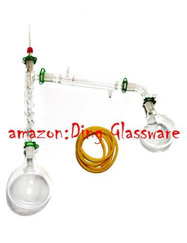 Ding Glassware1000ml Chemistry Lab Distillation ApparatusVigreux ColumnVacuum Kit2440