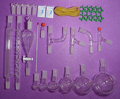 NANSHIN GlasswareLab glassware kit2440Advanced Chemistry Lab Glassware Kit lab glassware
