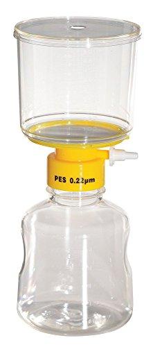 Lab Safety Supply - 11L832 - 500mL Filter Unit 022um 75mm PK12