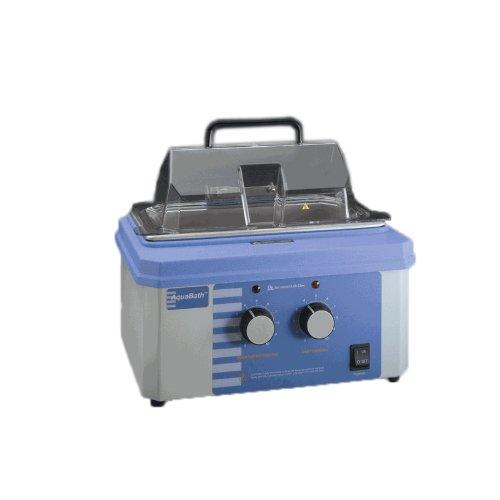Thermo Scientific ELED 18800A-1CEQ Lab-Line AquaBath Analog Dual Chamber Laboratory Water Bath 5 to 10L Capacity 230V 100 Degree C