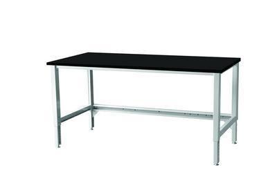 Sovella 14-C12041255 Cornerstone Laboratory Workstation Table with Epoxy Worksurface Double Bay Upright
