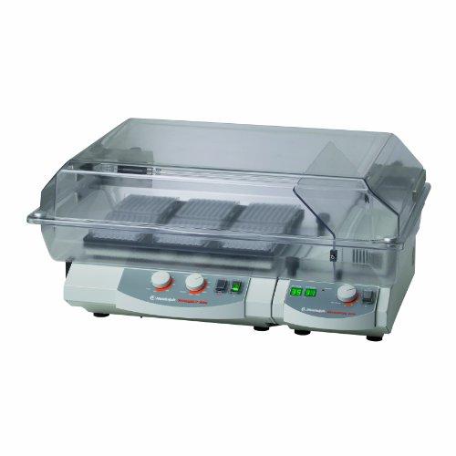 Heidolph 36130500 Titramax 1000 Vibrating Platform Shaker One Heating Module and One Flat Incubator Hood