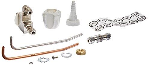 Labconco 2832602 DeionizedDistilled Water Standard Service Fixture Kit for Basic and Fiberglass 30 Laboratory Hoods White KnobConnector Color 40 psi