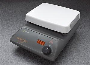 Corning 6795-400D PC-400D Hot Plate Digital Display 5 x 7 Pyroceram Top 775 x 425 x 11 L x W x H 5 to 550 Degrees C 120V60Hz