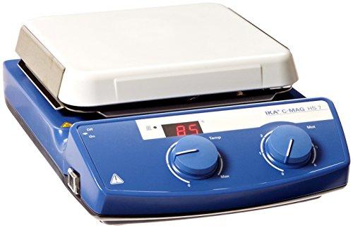IKA WORKS INC 3581201 C-MAG HS 7 IKAMAG Hot Plate Magnetic Stirrer Glass Ceramics Heating Plate 115V