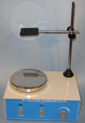 Magnetic Stirrer Mini Hotplate with 2 Stir Bars