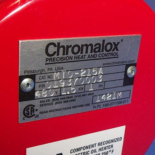 480V 15Kw 1Ph Light Wt Oil Immersion Heater Nnb