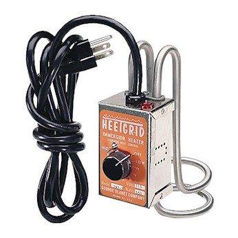 George Ulanet 297-2 HeetGrid Immersion Heater beaker 275 dia Heated Area 550 watts 115 VAC