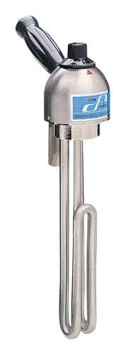 Immersion heater short rod 55 L heated area 500 watts 115 VAC