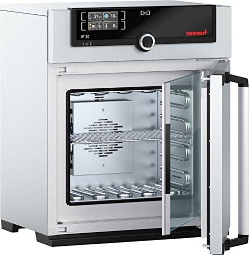 Memmert IF 30 115V Model IF Incubator 320 mm Height x 400 mm Width x 250 mm Length Interior 32 L Volume 115V 5060 Hz 85 Degree C