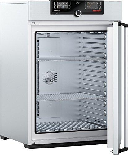 Memmert UF 260 Plus 230V Model UF Plus Universal Oven 800 mm Height x 640 mm Width x 500 mm Length Interior 256 L Volume 230V 5060 Hz 300 Degree C
