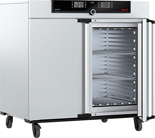 Memmert UF 450 Plus 208V 3ph Model UF Plus Universal Oven 720 mm Height x 1040 mm Width x 600 mm Length Interior 449 L Volume 3 Phase 400V 50 Hz 300 Degree C