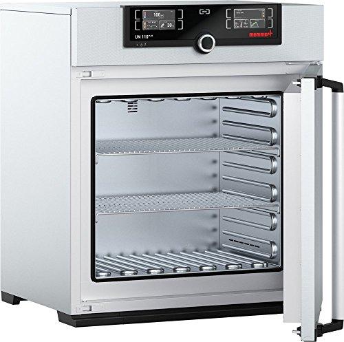 Memmert UN 110 Plus 115V Model UN Plus Universal Oven 480 mm Height x 560 mm Width x 400 mm Length Interior 108 L Volume 115V 5060 Hz 300 Degree C