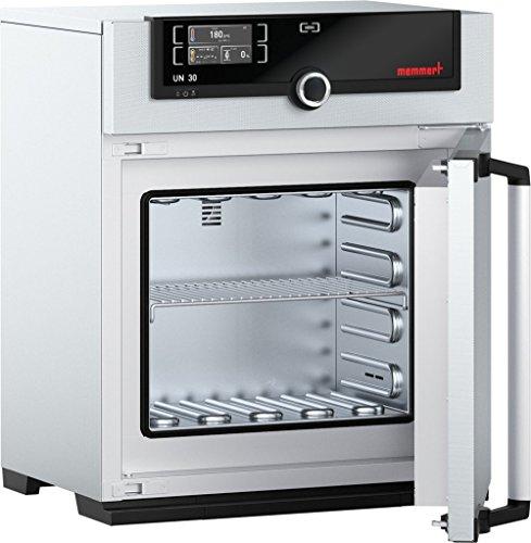 Memmert UN 30 115V Model UN Universal Oven 320 mm Height x 400 mm Width x 250 mm Length Interior 32 L Volume 115V 5060 Hz 300 Degree C